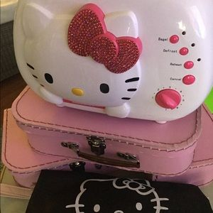 🗣Hello Kitty Double Trouble Toaster &DustCover